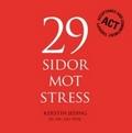 Omslagsbild till boken 29 sidor mot oro, 29 sidor mot stress, 29 sidor mot nedstämdhet